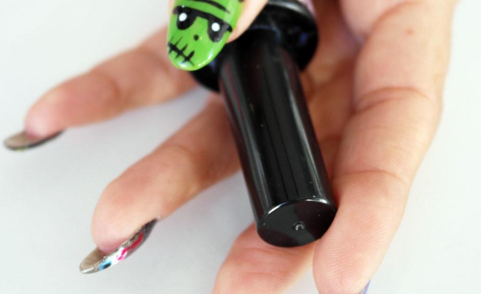Nail Art terrorífico en tus uñas para Halloween