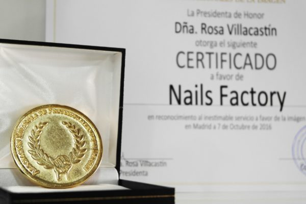 Nails Factory gana la medalla de oro