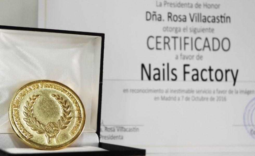 Nails Factory gana la medalla de oro