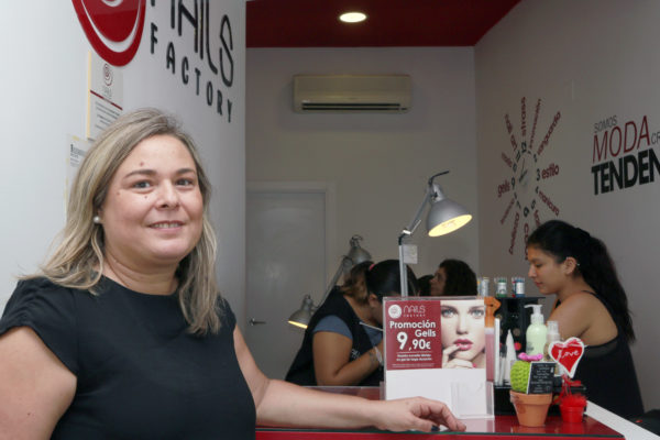 Raquel Rodríguez-Madridejos Jiménez, franquiciada de Nails Factory en Getafe