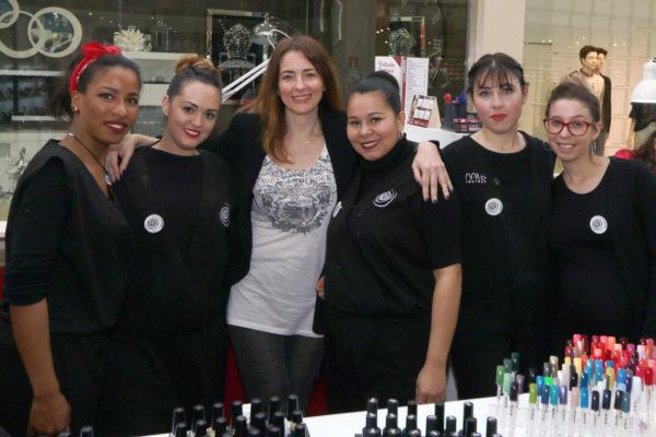 Nina Villalba gerente de tres franquicias de Nails Factory
