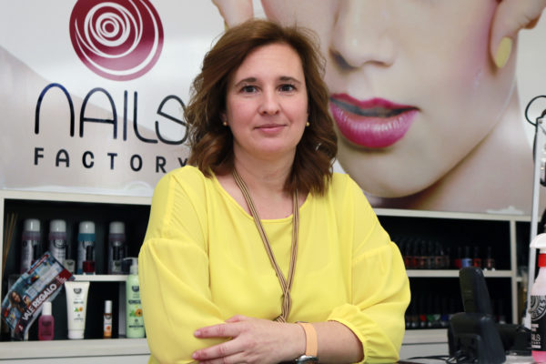 Pilar Ruiz, propietaria de siete franquicias Nails Factory