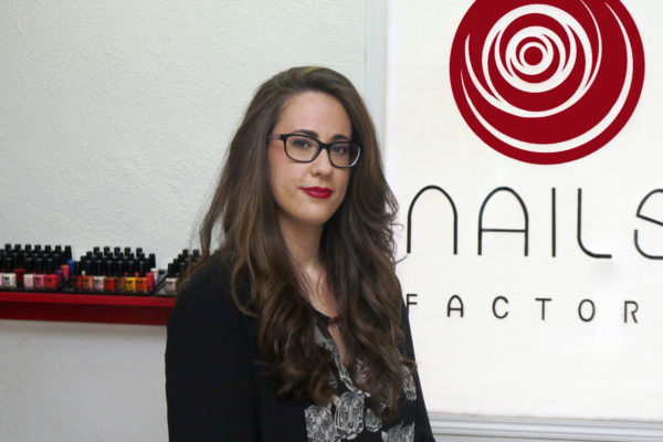 Silvia Casado, franquiciada de dos espacios Nails Factory