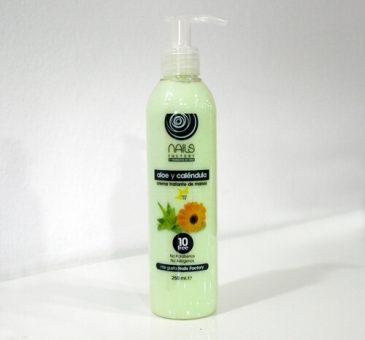 Crema tratante de manos Aloe y Caléndula 250 ml