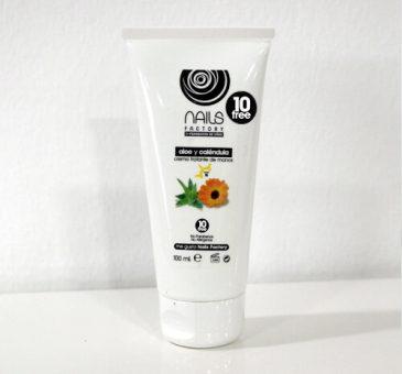 Crema tratante de manos Aloe y Caléndula 100 ml