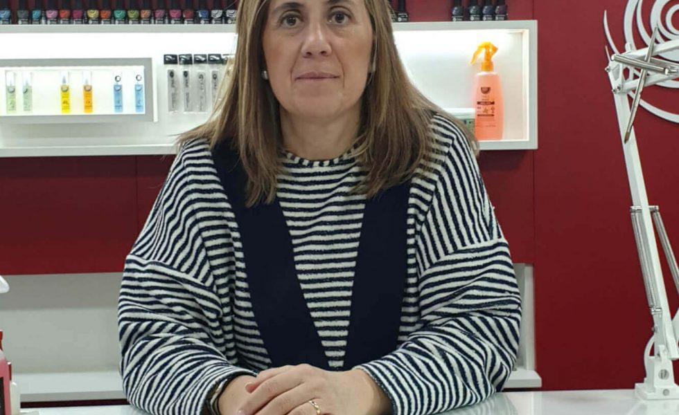María Eugenia franquiciada de Nails Factory