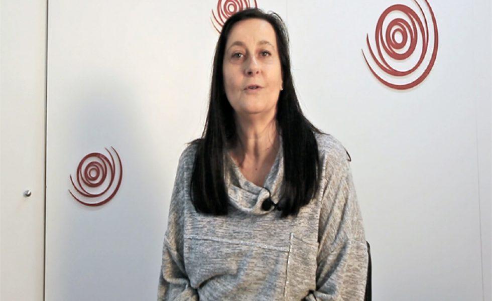 Olga López propietaria de la franquicia Nails Factory Retiro