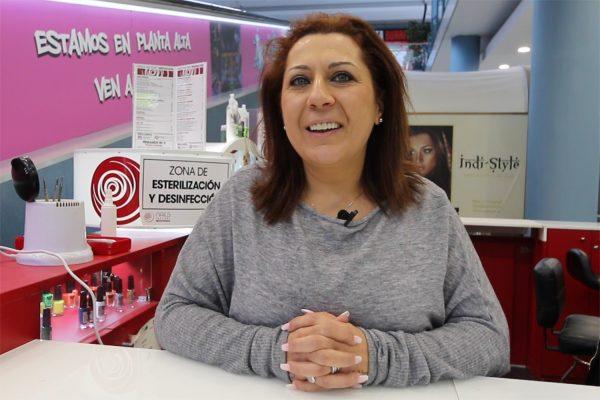 Cristina Meseguer franquiciada Nails Factory en Madrid